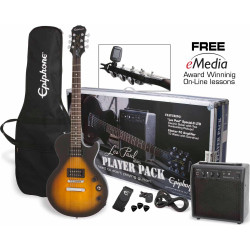 Pack Epiphone Les Paul Player Pack VS