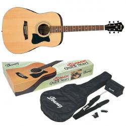 Pack Guitarra Acústica Ibanez V50NJP NT