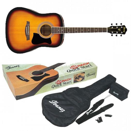 Pack Guitarra Acústica Ibanez V50NJP VS
