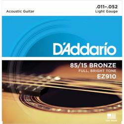 D'Addario EZ910 serie Great American Bronze