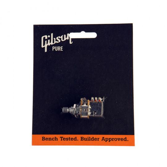 Potenciómetro de 500k Push/Pull Gibson PPAT-520 de eje corto.