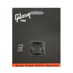 Placa de plástico negra para jack de entrada Gibson PRJP-010