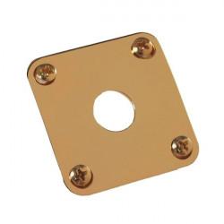 Placa metálica para jack de entrada Gibson PRJP-020