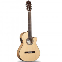 Guitarra Flamenca electrificada Alhambra 3F CW E1