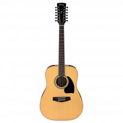 Guitarra Acústica 12 cuerdas Ibanez PF1512 NT