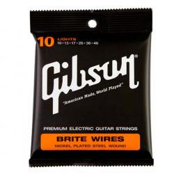 Juego de cuerdas Gibson Brite Wires SEG-700L Light