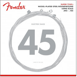 Fender Super 7250's Nickel Plated Steel Roundwound