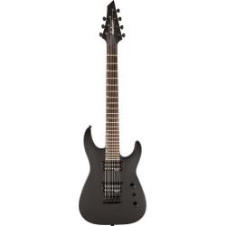 Guitarra eléctrica de 7 cuerdas Jackson JS22-7 Dinky Satin Black