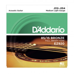 Juego cuerdas Guitarra Acústica D'Addario EZ920