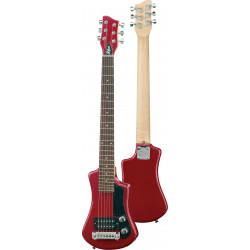 Guitarra eléctrica de viaje Hofner Shorty Red