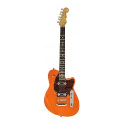 Guitarra eléctrica Reverend Flatroc Rock Orange