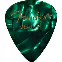 Pack 12 Púas Fender Green Moto Medium