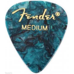 Pack 12 Púas Fender Ocean Turquoise Medium