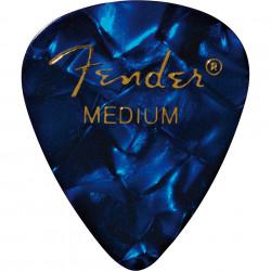 Pack 12 Púas Fender Blue Moto Medium