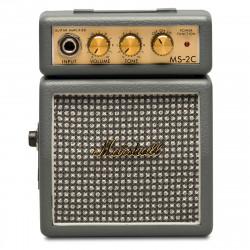 Mini Amplificador Marshall MS-2C Vintage Grey