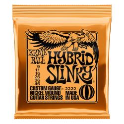 Ernie Ball 2222 Hybrid Slinky 09 - 46 Juego de cuerdas guitarra eléctrica