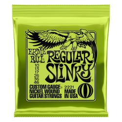 Ernie Ball Regular Slinky 10-46 Juego de cuerdas guitarra eléctrica