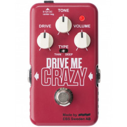 EBS Drive Me Crazy Pedal Distortion/Overdrive