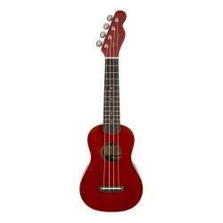 Ukelele Soprano Fender Venice Cherry