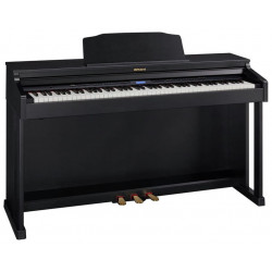 Piano digital Roland HP-601 CB (Negro Mate)