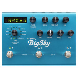 Pedal Strymon Big Sky Multidimensional Reverb