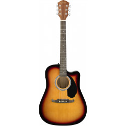 Electroacústica Fender FA-125CE Sunburst