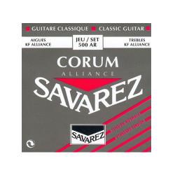 Juego cuerdas guitarra clásica Savarez 500 AR