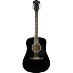 Guitarra acústica Fender FA-125 Black