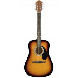 Guitarra acústica Fender FA-125 Sunburst