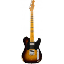 Fender 2018 Limited Edition '51 HS Tele Relic Faded 2 Color Sunburst