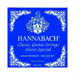 Juego cuerdas Hannabach clásica Set 815 HT Hight Tension