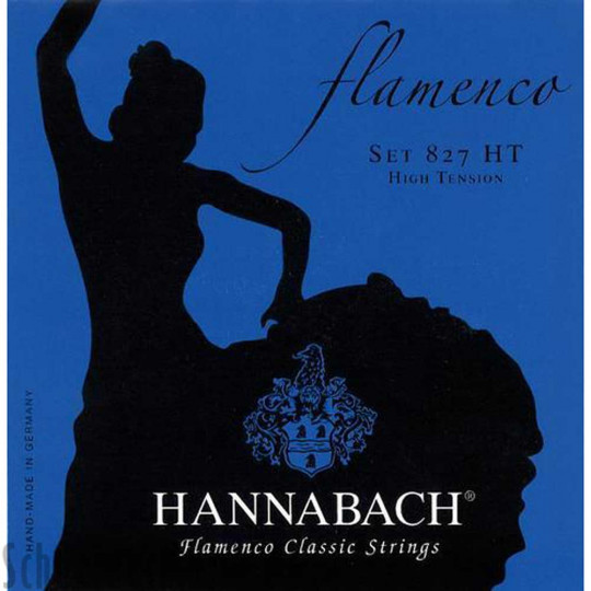Juego cuerdas Hannabach flamenco Set 827 HT