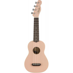 Ukelele Soprano Fender Venice Shell Pink