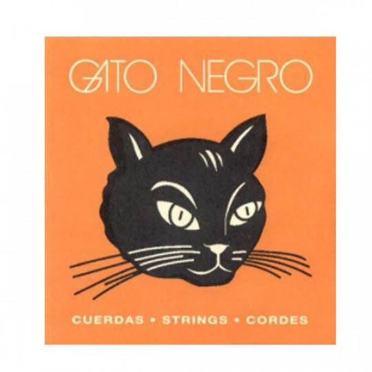 Juego cuerdas Clásica Gato Negro.Tensión Normal