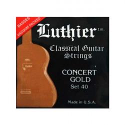 Juego de cuerdas Guitarra clásica Luthier Set 40