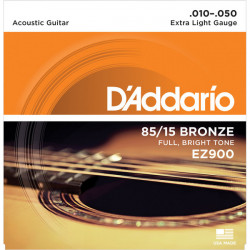 Juego cuerdas Guitarra Acústica D'Addario EZ900