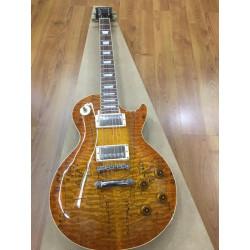 Guitarra eléctrica Tokai LS135QM Violin Finish
