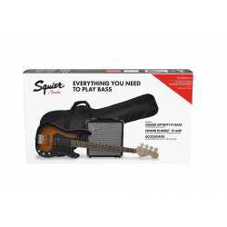 Pack bajo eléctrico Fender Squier Afinity Precision Bass PJ Pack BSB