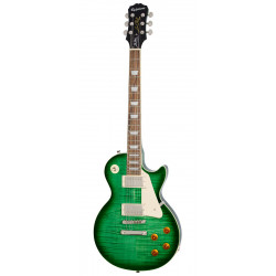 Guitarra eléctrica Epiphone Les Paul Standard Plus Top Pro Green Burst