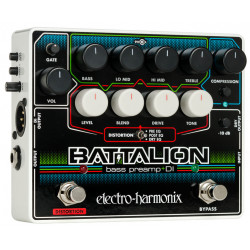 Electro Harmonix Battalion Bass Preamp & DI