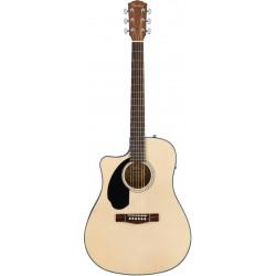 Fender CD-60SCE LH NAT Guitarra Electroacústica para zurdos