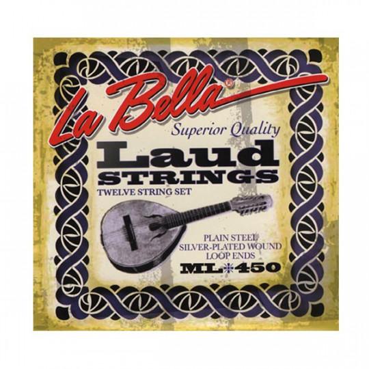Juego cuerdas La Bella Laud ML 450