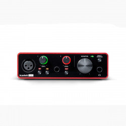 Focusrite Scarlett Solo 3rd Generation Interfaz de audio USB