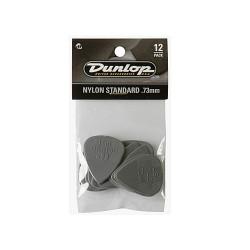 Bolsa de 12 Puas Dunlop standard nylon de 0.73mm